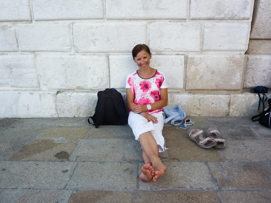 Wenecja - chwila relaxu w tych upałach