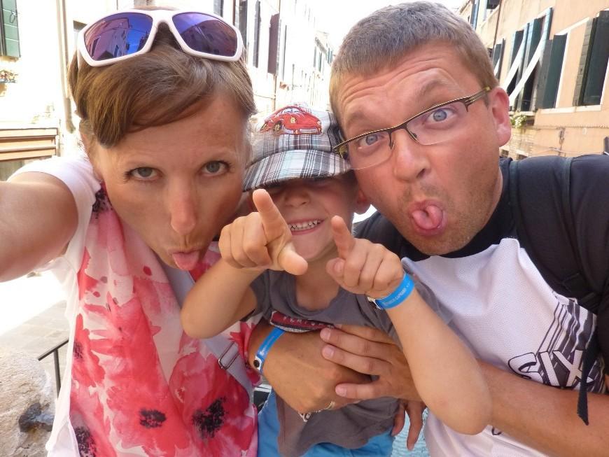 Wenecja - szalona rodzinka